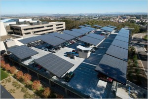 Companies Going Green With Solar Carports