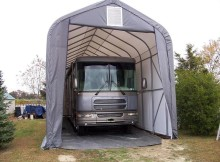 Affordable Portable Garage Carports Protect Recreational Vehicles