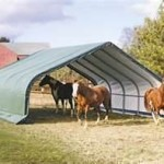 Animal Shelter Portable Garage
