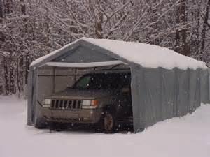 protable garage winter
