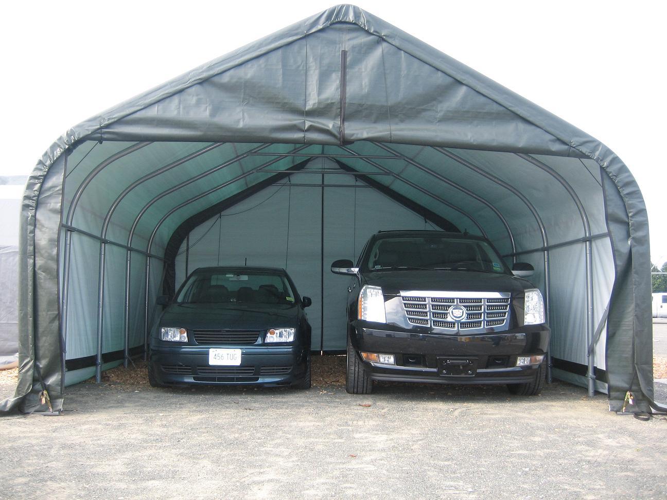 2 Car Portable Garage