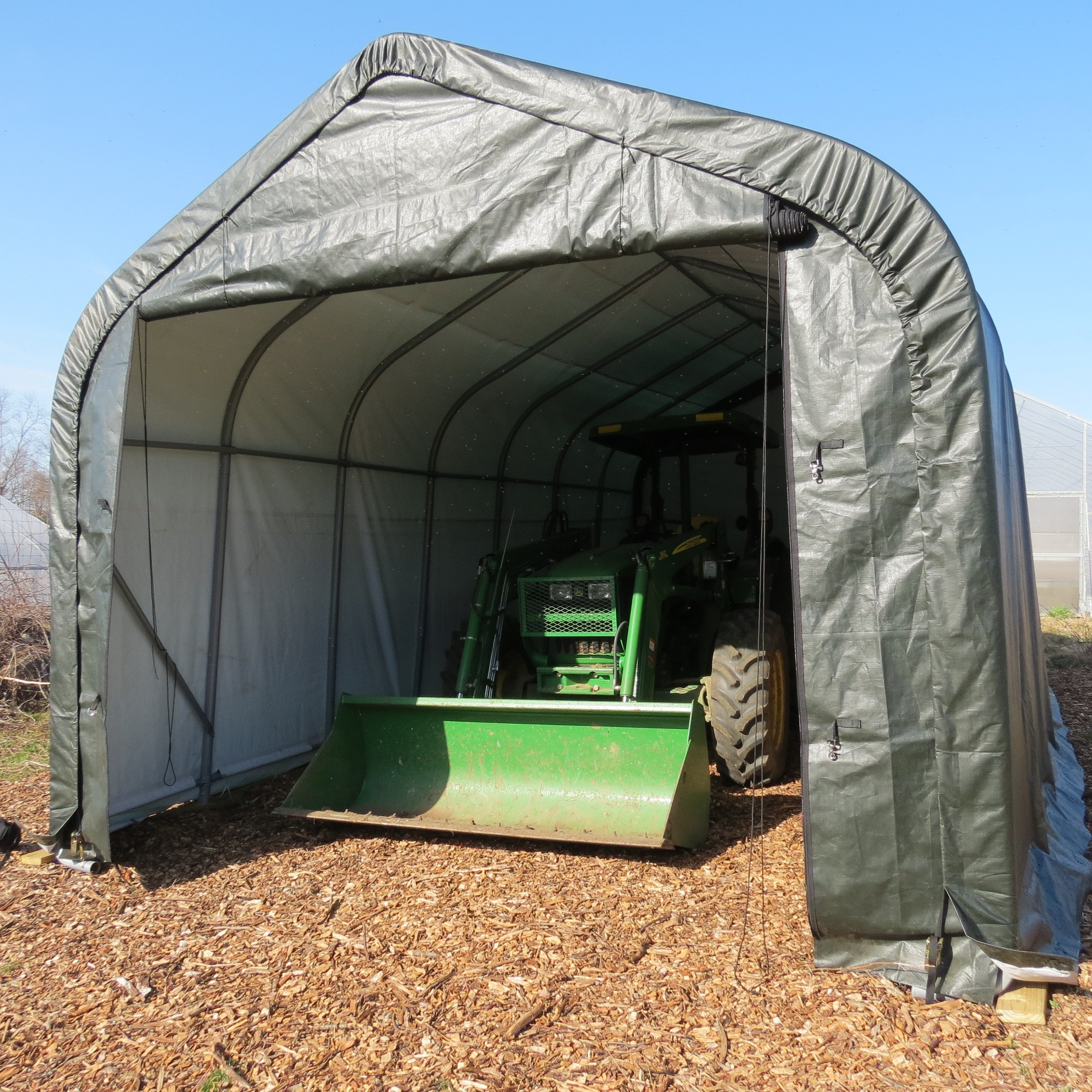 Temporary Garages For Winter : Portable building garages carports