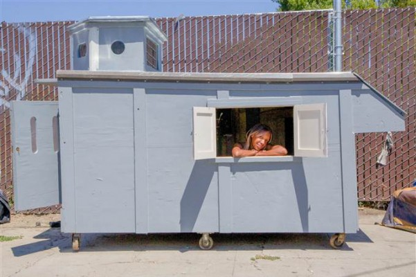 Homeless Huts Can Provide Shelter for Those in Need