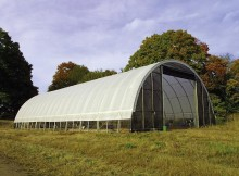 Using a Portable Garage on a Farm