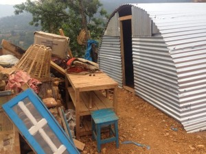 Nepal earthquake shelters