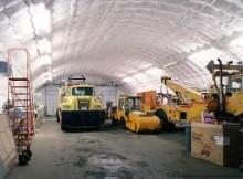 portable garage construction