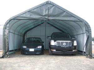 portable garage roof leak