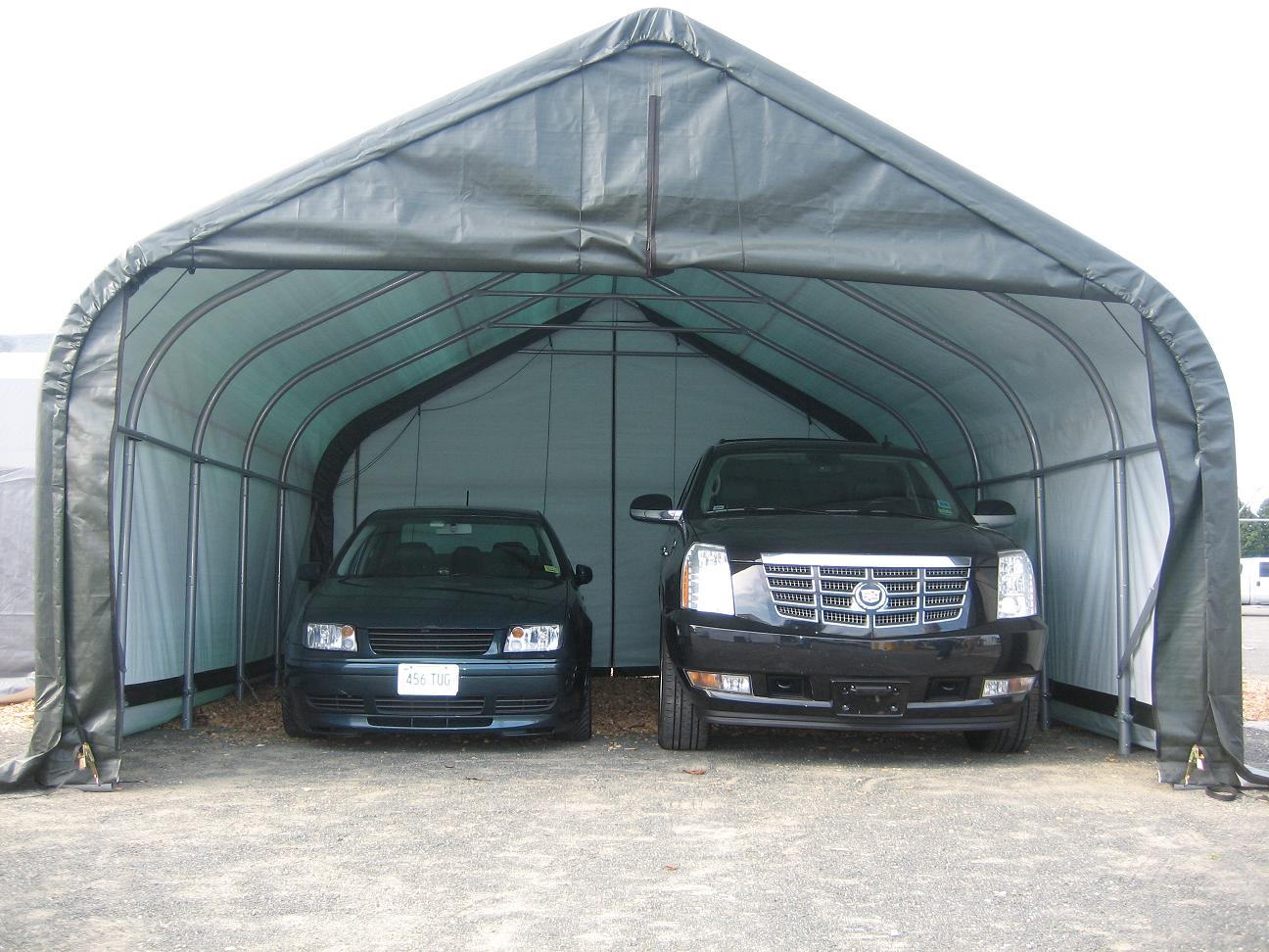 make shelter hiscoshelters lasting gallery kits heavy your diy own carport portable photo com shield all tarp garage weather temporary logic long pin