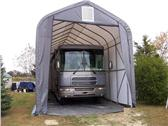 portable garage camper RV