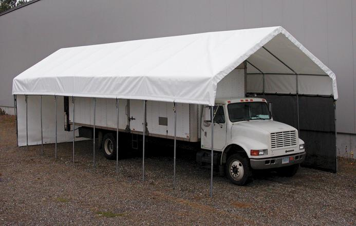 Portable Car Canopy : Portable building garages carports