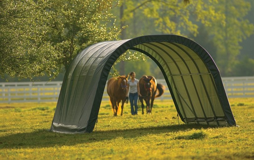 Portable Garages Provide Better Livestock Protection for All Weather
