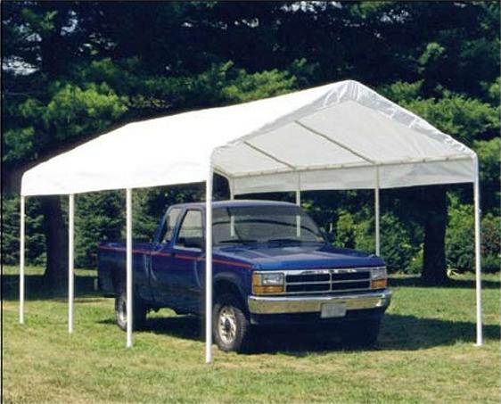 Semi Truck Portable Shelter : Portable building garages carports