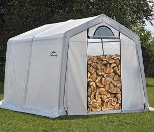 shed for seasoning firewood