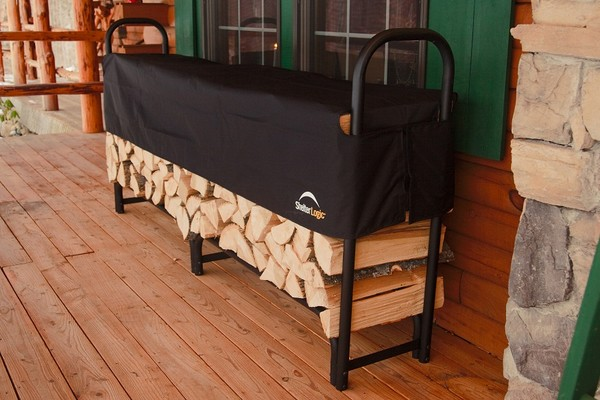 Get Firewood Ready for Winter with a Portable Garage