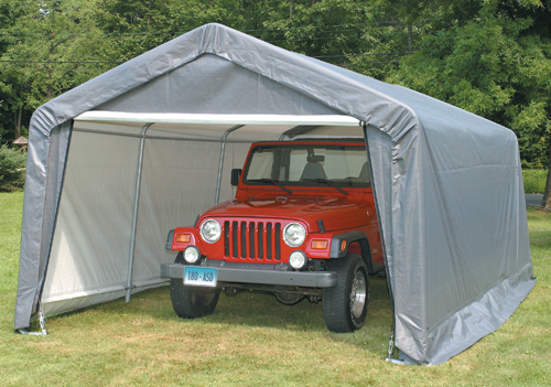 Carports How Take Down And Store Your Portable Garage In Off Season