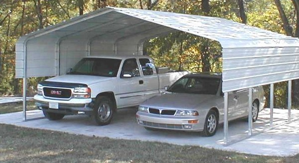 carport outdoors