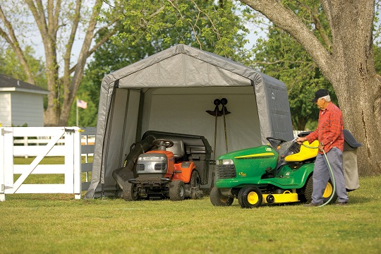 spring portable shelter