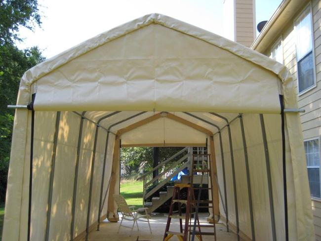 Why You Should Get a Portable Garage Instead