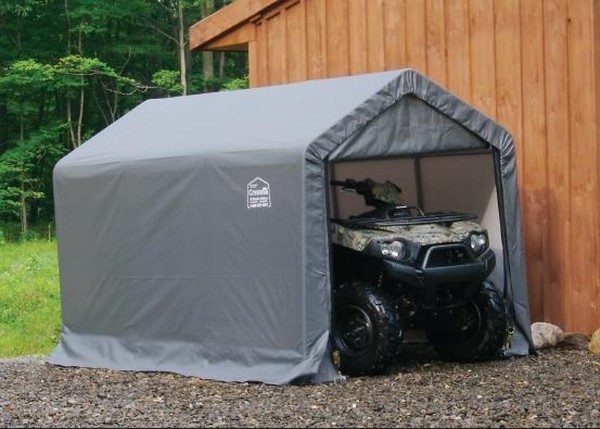 portable garage ATV