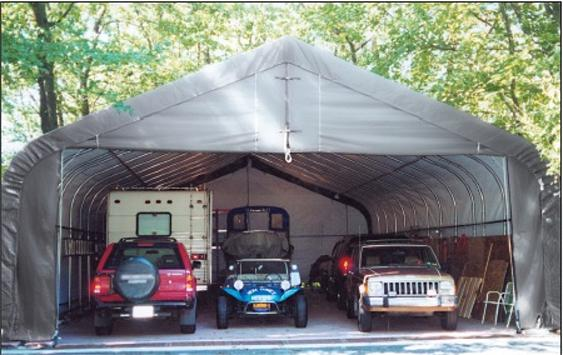 How to Choose a Replacement Cover for Your Portable Garage