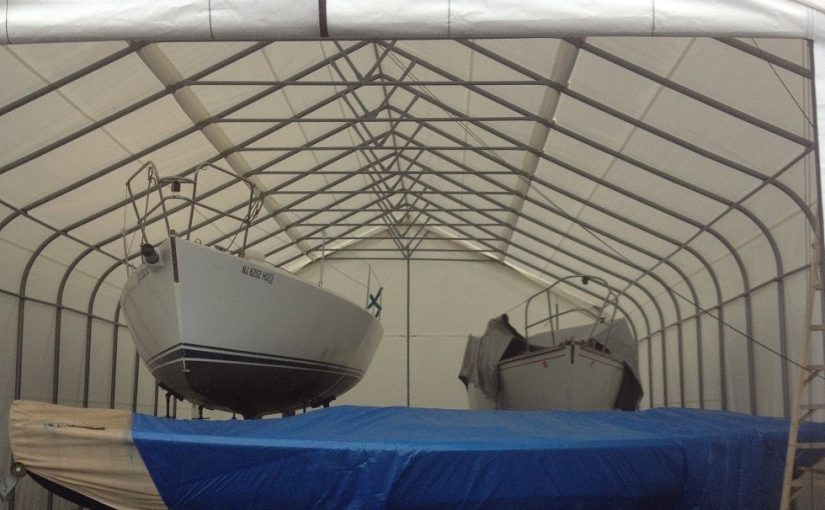 Order a Boat Shelter in Time for the Spring Season